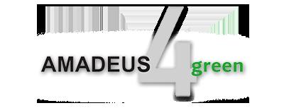 Amadeus 4 Green Logo